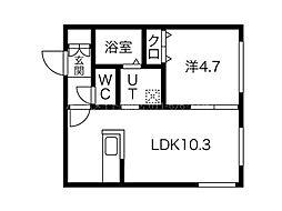 仮)南7西12MS[1階]の間取り
