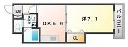 ボナールシュエット[2階]の間取り