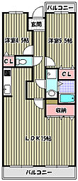 マグノリアコート[2階]の間取り