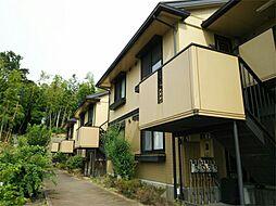 神奈川県横浜市港北区岸根町の賃貸アパートの外観
