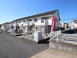千葉県白井市西白井2丁目の賃貸アパートの外観