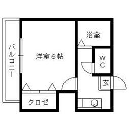 サクヤパーク[1階]の間取り