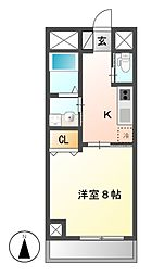 BERG IZUMI(ベルグイズミ)[9階]の間取り