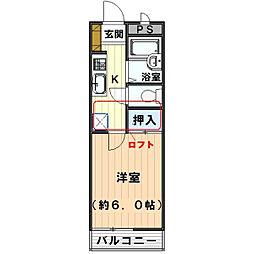 クレイモアY2[1階]の間取り