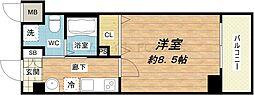 JPレジデンス大阪城東[10階]の間取り