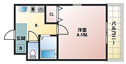 マイドリーム[2階]の間取り