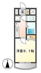 プレサンス覚王山D−StyleII[12階]の間取り