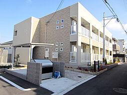 大阪府貝塚市北町の賃貸アパートの外観