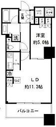 ザ・パークハウス西新宿タワー60[19階号室]の間取り