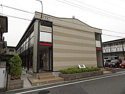 埼玉県坂戸市大字厚川の賃貸アパートの外観