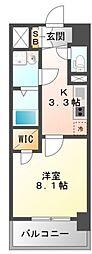 M'sCOMFORT ESAKA[7階]の間取り