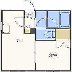 アーバンN32[1階]の間取り
