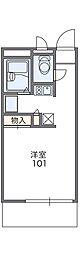 Osaka Metro谷町線 守口駅 徒歩9分の賃貸マンション 1階1Kの間取り