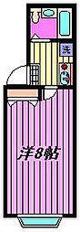 スターヒル蕨[2階]の間取り