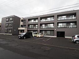 北海道札幌市白石区菊水元町2条の賃貸マンションの外観
