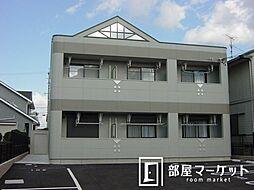 愛知県豊田市田中町3丁目の賃貸アパートの外観