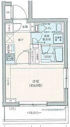 ロアール豊島長崎[108号室]の間取り