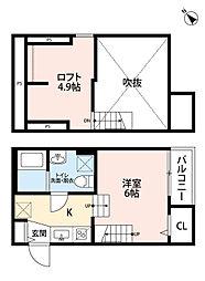 新築 トスカーニ[105号室号室]の間取り