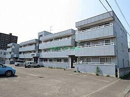 北海道札幌市東区北三十条東16丁目の賃貸マンションの外観