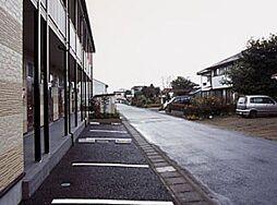 東京都青梅市友田町4丁目の賃貸アパートの外観