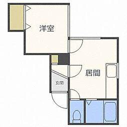 みやびあん札幌[3階]の間取り