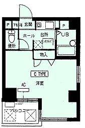 江坂OMパレス[5階]の間取り
