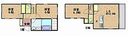 [一戸建] 神奈川県横須賀市ハイランド4丁目 の賃貸【/】の間取り