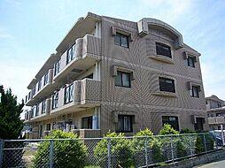 福岡県糟屋郡粕屋町長者原西2丁目の賃貸マンションの外観
