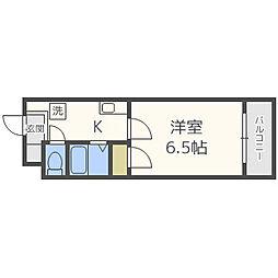 プレミアム堀江[4階]の間取り