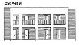 メゾン ボヌール日新[1階]の外観