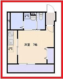 東京都足立区保塚町の賃貸マンションの間取り