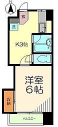神星ビル[3階]の間取り
