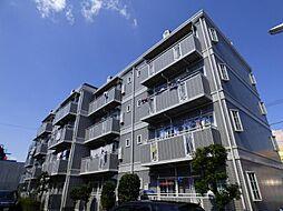 東京都足立区青井6丁目の賃貸マンションの外観