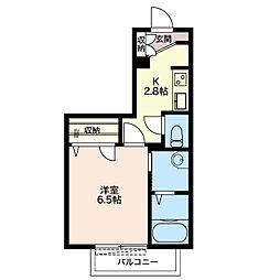 Regalo[2階]の間取り