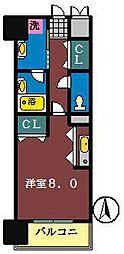 ソフィアグレース八千代[801号室]の間取り