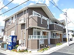 兵庫県西宮市山口町上山口1丁目の賃貸アパートの外観
