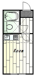 プラザ・ドゥ・パナーシ[2階]の間取り