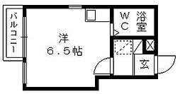 朝日プラザ浜松元浜パサージュ[2階]の間取り