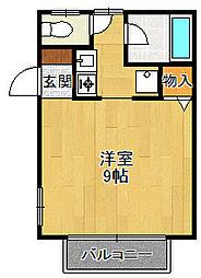 小林弐番館[101号室]の間取り