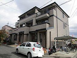 大阪府高槻市三島江4丁目の賃貸アパートの外観