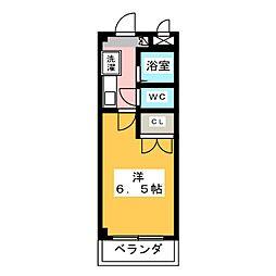 岡田ビルディング[2階]の間取り