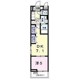 エクロジオン[2階]の間取り