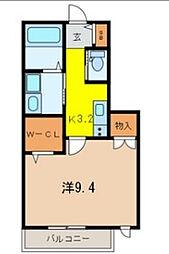 メゾンエフ[2階]の間取り