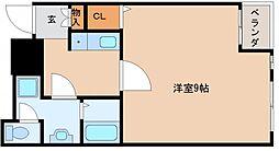 パークシティ東三国[2階]の間取り