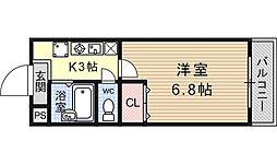 JTトキジン(ジェイティートキジン)[205号室号室]の間取り