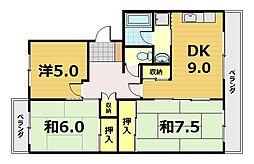Nouvelle GEKKEIKAN[1階]の間取り