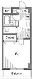 マノアコート[2階]の間取り