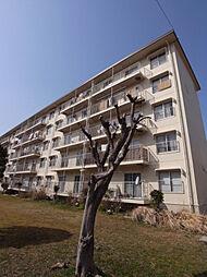 公社清和台住宅団地22号棟[105号室]の外観