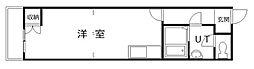 ニューフロンティア永山[108号室]の間取り