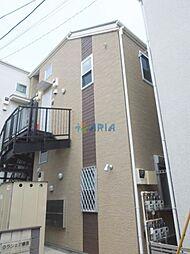神奈川県横浜市鶴見区向井町2の賃貸アパートの外観